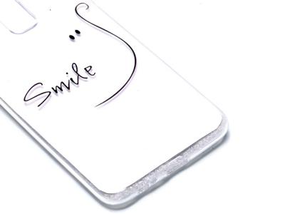 Силиконов Гръб за Samsung Galaxy A6 Plus 2018, Усмивка