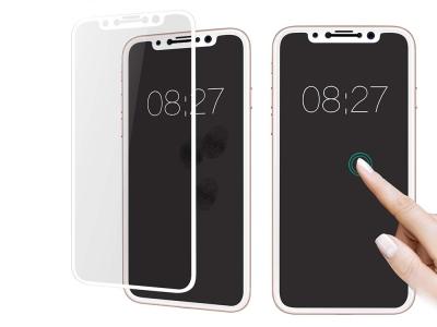 Стъклен протектор Roar 5D Full Glue за Iphone X / XS / iPhone 11 Pro , Бял