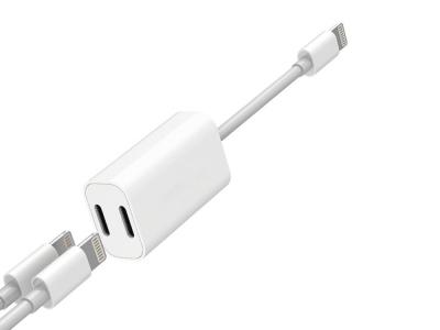 Адаптер Cyoo Y-Cable Double Lightning за iPhone