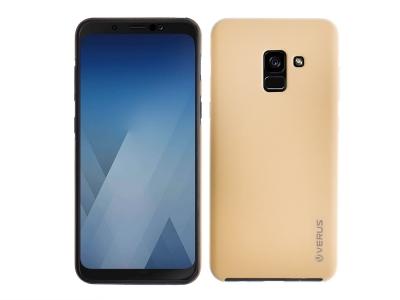 360 Градусов Калъф за Samsung Galaxy A5 2018 / A8 2018, Златист