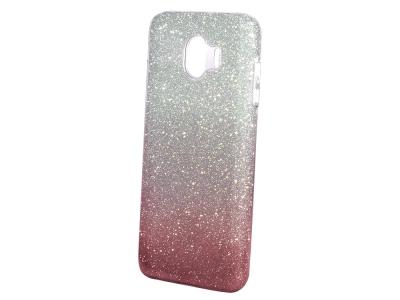 Калъф Гръб SHINING за Samsung Galaxy J4 2018 J400, Сребрист/ Розов