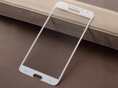 Стъклен Протектор Full Glue 5D за Samsung Galaxy J4 2018, Бял