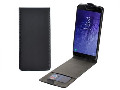 Калъф Тефтер Slim Flexy за Samsung Galaxy J4 2018 J400, Черен