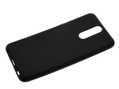 Силиконов Гръб Level за Huawei Mate 10 Lite / nova 2i, Черен