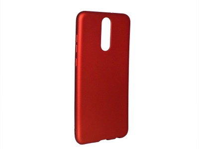 Силиконов Гръб Level за Huawei Mate 10 Lite / nova 2i, Червен