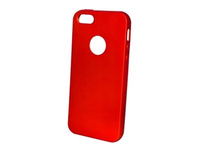 Силиконов Гръб Level за iPhone 5/5S/5SE, Червен