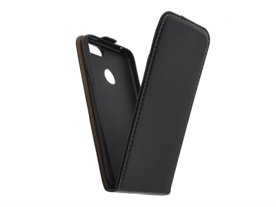 Калъф Тефтер Slim Flexy за Huawei Honor 9 Lite , Черен