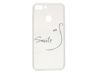 Силиконов Гръб за Huawei Honor 9 Lite, Усмивка