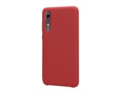 Пластмасов гръб LUX за Huawei P20 , Червен