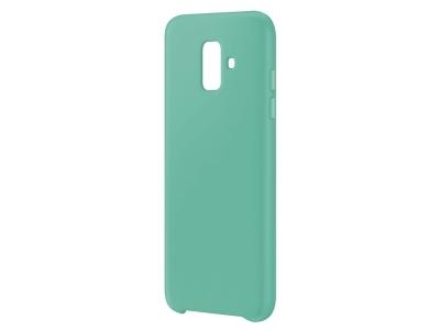 Пластмасов гръб LUX за Samsung Galaxy A6 2018, Светло син