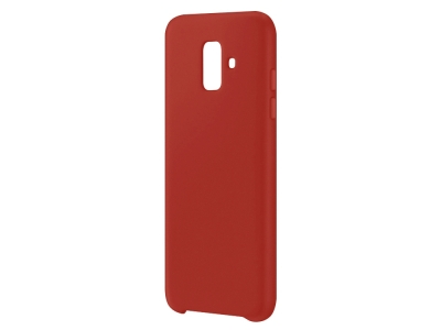 Пластмасов гръб LUX за Samsung Galaxy A6 2018, Червен