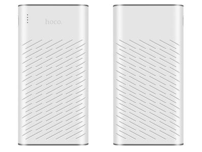 Универсална Външна Батерия (Power Bank) HOCO B31A 30000 mAh, Бял