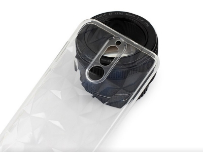 Силиконов гръб PRISM за Huawei Mate 10 Lite, Прозрачен
