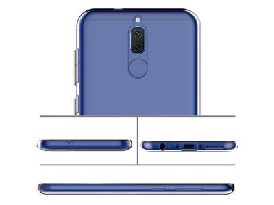Силиконов гръб за Huawei Mate 10 Lite , Прозрачен
