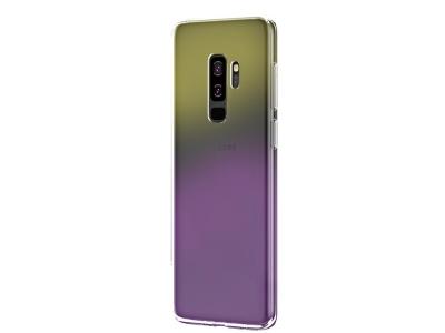 Силиконов гръб OMBRE BLUERAY за Samsung Galaxy A6  Plus 2018, Розов