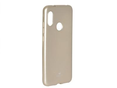 Силиконов гръб Jelly Mercury за Xiaomi Mi A2 Lite / Redmi 6 Pro , Златист