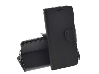 Калъф тефтер Fancy Book за Xiaomi Mi A2 Lite / Redmi 6 Pro , Черен