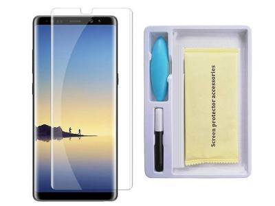 Стъклен Протектор UV за Samsung Galaxy Note 9 N960 - Black
