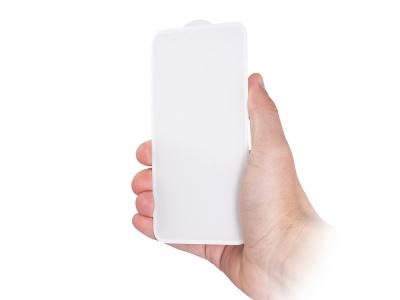 Стъклен протектор 5D Full Glue за Iphone XR  / iPhone 11 , Бял