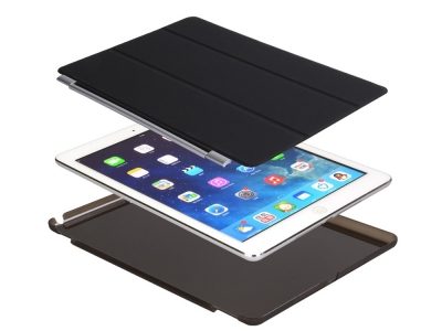 Калъф Тефтер 2-in-1 за iPad 9.7 (2018) / 9.7 (2017) , Черен