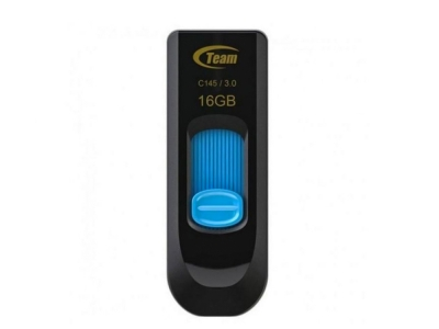 USB Флаш памет 16GB TEAM C145, Син