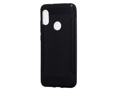 Силиконов гръб Carbon за Xiaomi Mi A2 Lite / Redmi 6 Pro, Черен
