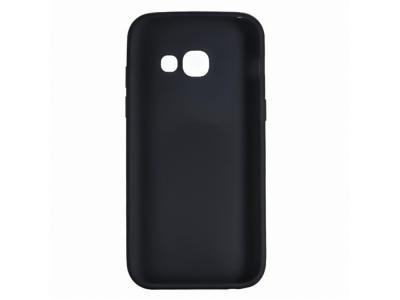 Силиконов гръб Matte за Samsung Galaxy J4 Plus (2018) J415, Черен