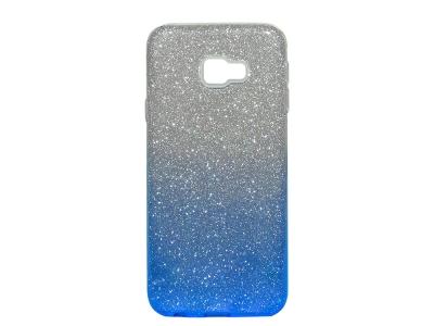 Силиконов Гръб SHINING за Samsung Galaxy J4 Plus (2018) J415, Сребрист / Син