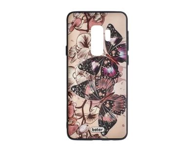 Пластмасов гръб Boter за Samsung Galaxy S9 Plus G965, Пеперуди