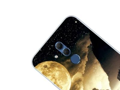 Силиконов гръб за Huawei Mate 20 Lite , Красива нощ