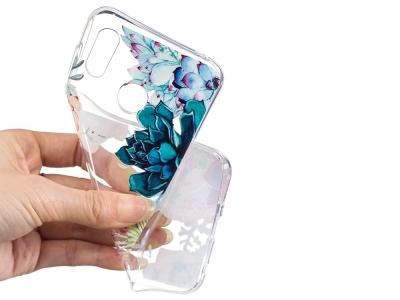 Силиконов гръб за Huawei Honor Play , Цветя