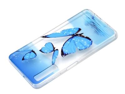 Силиконов Гръб за Samsung Galaxy A7 (2018) A750, Пеперуда