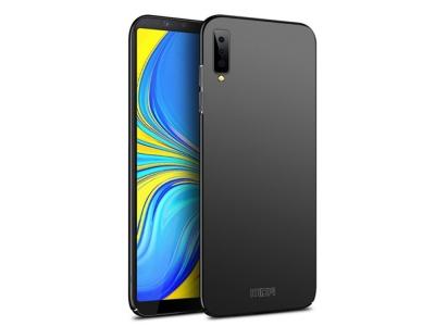 Пластмасов Гръб MOFI за Samsung Galaxy A7 (2018) A750, Черен