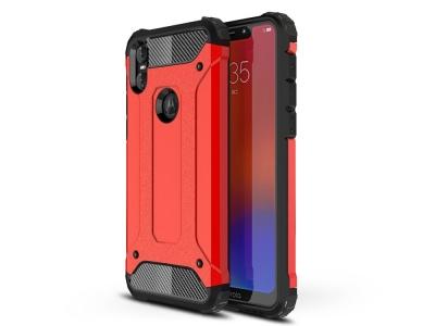 Удароустойчив гръб Armor за Motorola One / P30 Play , Червен