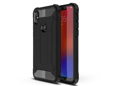 Удароустойчив гръб Armor за Motorola One / P30 Play, Черен