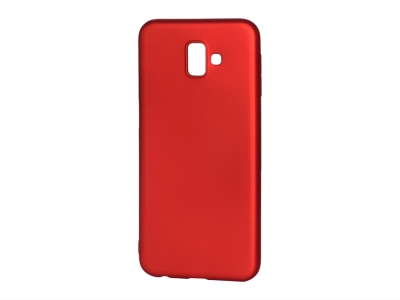 Силиконов Гръб Level за Samsung Galaxy J6 Plus, Червен