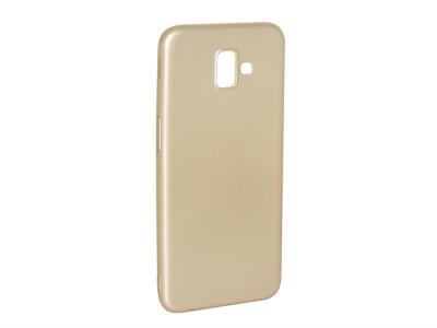 Силиконов Гръб Level за Samsung Galaxy J6 Plus , Златист