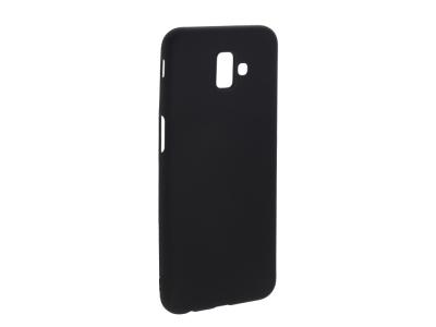 Силиконов Гръб Level за Samsung Galaxy J6 Plus, Черен
