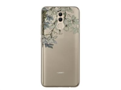 Силиконов Гръб Floral за Huawei Mate 20 Lite , Жасмин