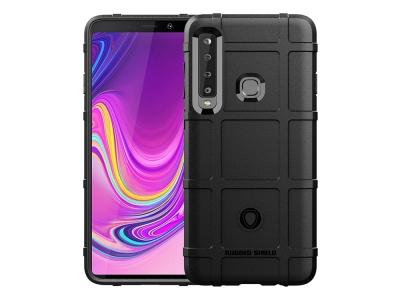 Удароустойчив гръб Grid за Samsung Galaxy A9 2018, Черен