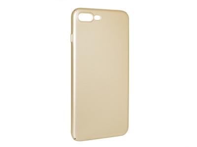 Пластмасов гръб за iPhone 7 Plus / iPhone 8 Plus, Златист