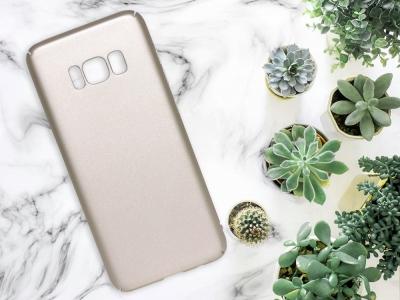 Пластмасов гръб за Samsung Galaxy S8 (G950) , Златист