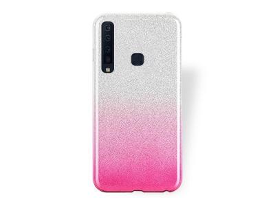 Силиконов Гръб BLING за Samsung Galaxy A9 (2018) / A9 s, Розов