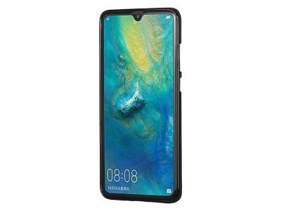 Силиконов гръб Jelly Mercury за Huawei Mate 20, Черен