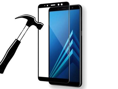 Стъклен протектор 3D Full за Samsung Galaxy A8 Plus 2018 A730F, Черен
