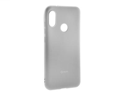 Силиконов гръб Roar за Xiaomi Mi A2 Lite / Redmi 6 Pro, Сив