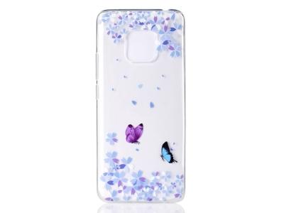 Силиконов Гръб за Huawei Mate 20 Pro, Пеперуди