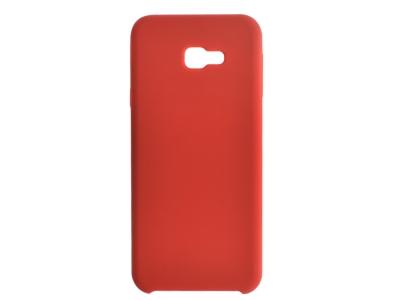 Пластмасов Гръб LUX за Samsung Galaxy J4 Plus, Червен