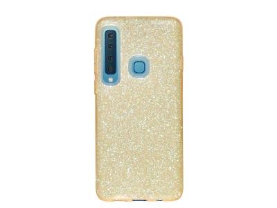 Силиконов Гръб SHINING за Samsung Galaxy A9 2018 A920, Златист