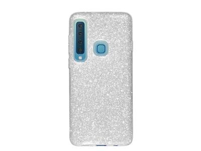 Силиконов Гръб SHINING за Samsung Galaxy A9 2018 A920, Сребрист